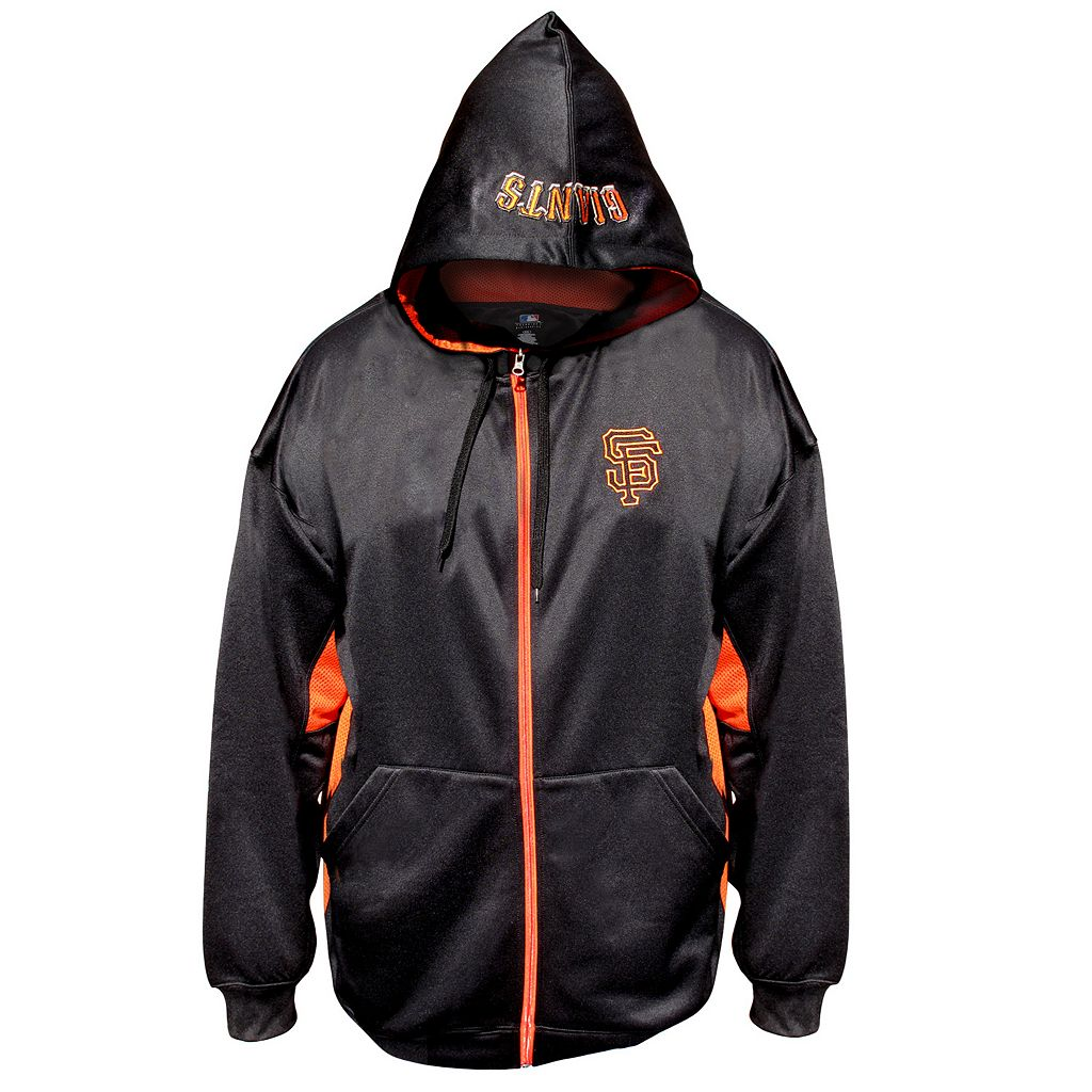 Big & Tall Majestic San Francisco Giants Fleece Full-Zip Hoodie