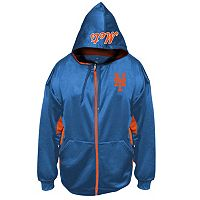 Big & Tall Majestic New York Mets Fleece Full-Zip Hoodie