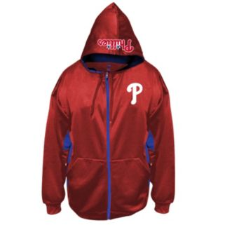 Big & Tall Majestic Philadelphia Phillies Fleece Full-Zip Hoodie