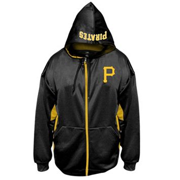 Big & Tall Majestic Pittsburgh Pirates Fleece Full-Zip Hoodie