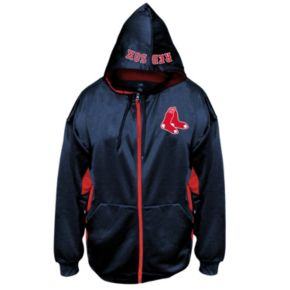 Big & Tall Majestic Boston Red Sox Fleece Full-Zip Hoodie
