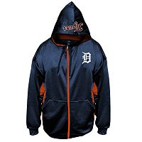 Big & Tall Majestic Detroit Tigers Fleece Full-Zip Hoodie