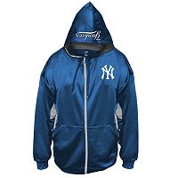 Big & Tall Majestic New York Yankees Fleece Full-Zip Hoodie
