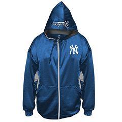Big & Tall Majestic New York Yankees Fleece Full-Zip Hoodie