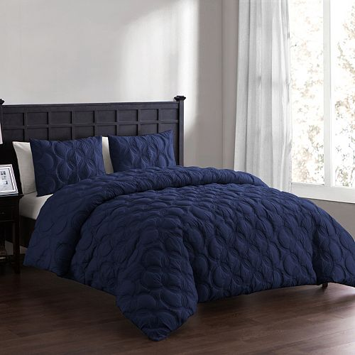 VCNY Atoll Embossed Duvet Cover Set