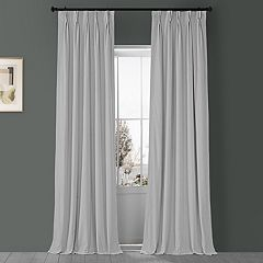 EFF Velvet Blackout Window Curtain