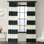 EFF Stripe Cotton Window Curtain
