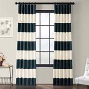 EFF Stripe Cotton Window Curtain