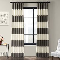 EFF Stripe Cotton Curtain