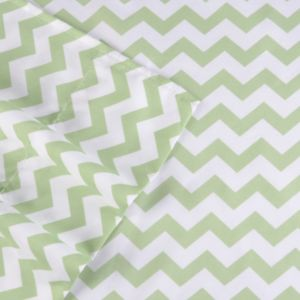 Journee Collection 4-piece 1500 Thread Count Chevron Microfiber Sheet Set