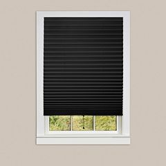 Achim 6-pack 1-2-3 Pleated Vinyl Peel N Stick Room Darkening Shade
