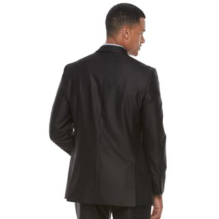 Men's Apt. 9® Premier Flex Slim-Fit Herringbone Black Suit Jacket