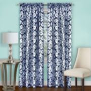 Achim 1-Panel Batik Light Filtering Curtain