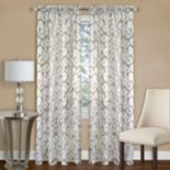 Achim 1-Panel Batik Light Filtering Curtain