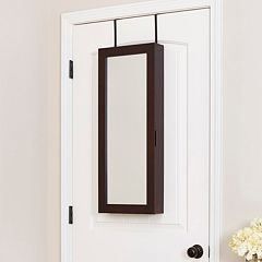 InnerSpace Luxury Products Wall & Over-The-Door Jewelry Armoire  by
