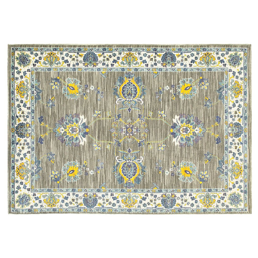 StyleHaven Jacquelyn Distressed Traditional Rug