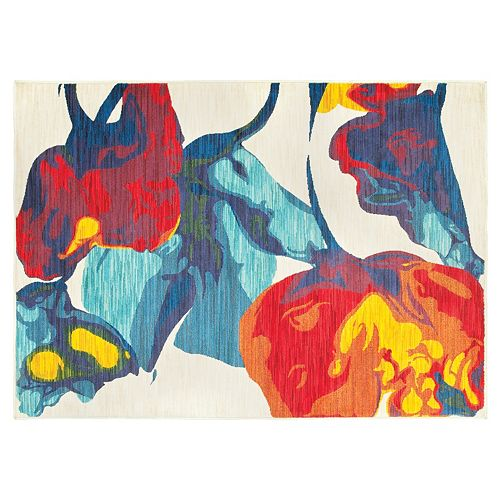 StyleHaven Jacquelyn Abstract Floral Rug