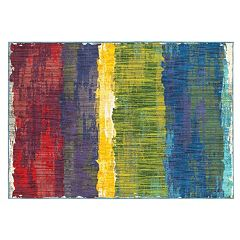 StyleHaven Jacquelyn Abstract Etchings Rug