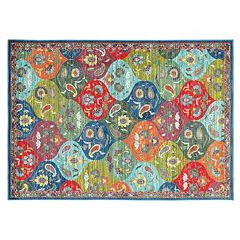 StyleHaven Jacquelyn Floral Panel Rug