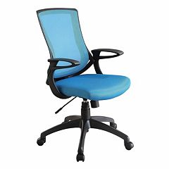 Linon Carlyle Mesh Desk Chair