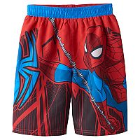 Toddler Boy Marvel Spider-Man Swim Trunks