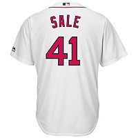 Men's Majestic Boston Red Sox Chris Sale Cool Base Replica Jersey