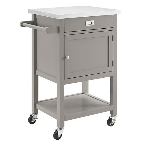 Linon Sydney Rolling Kitchen Cart