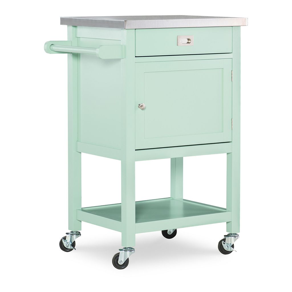 Linon Sydney Rolling Kitchen Cart