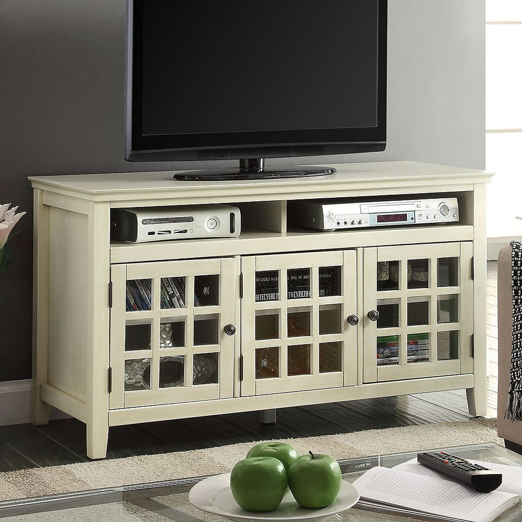 Linon Largo Media Storage TV Stand