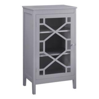 Linon Geometric Storage Cabinet