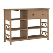 Linon Titian Tall Media Storage TV Stand
