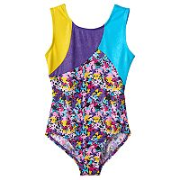 Girls 4-14 Jacques Moret Handspring Stars Leotard