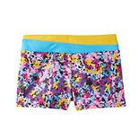Girls 4-14 Jacques Moret Handspring Stars Gym Micro Shorts