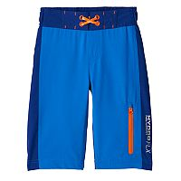 Boys 4-7 Free Country Color Block Swim Trunks