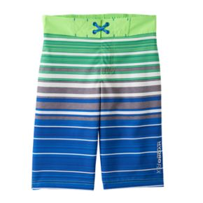 Boys 4-7 Free Country Striped Swim Trunks
