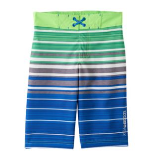 Boys 4-7 Free Country Striped Swim Trunks