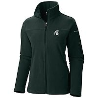 Women's Columbia Michigan State Spartans Give And Go Microfleece Jacket