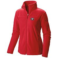 Women's Columbia Georgia Bulldogs Give And Go Microfleece Jacket