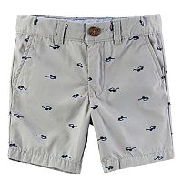 Boys 4-8 Carter's Canvas Print Shorts