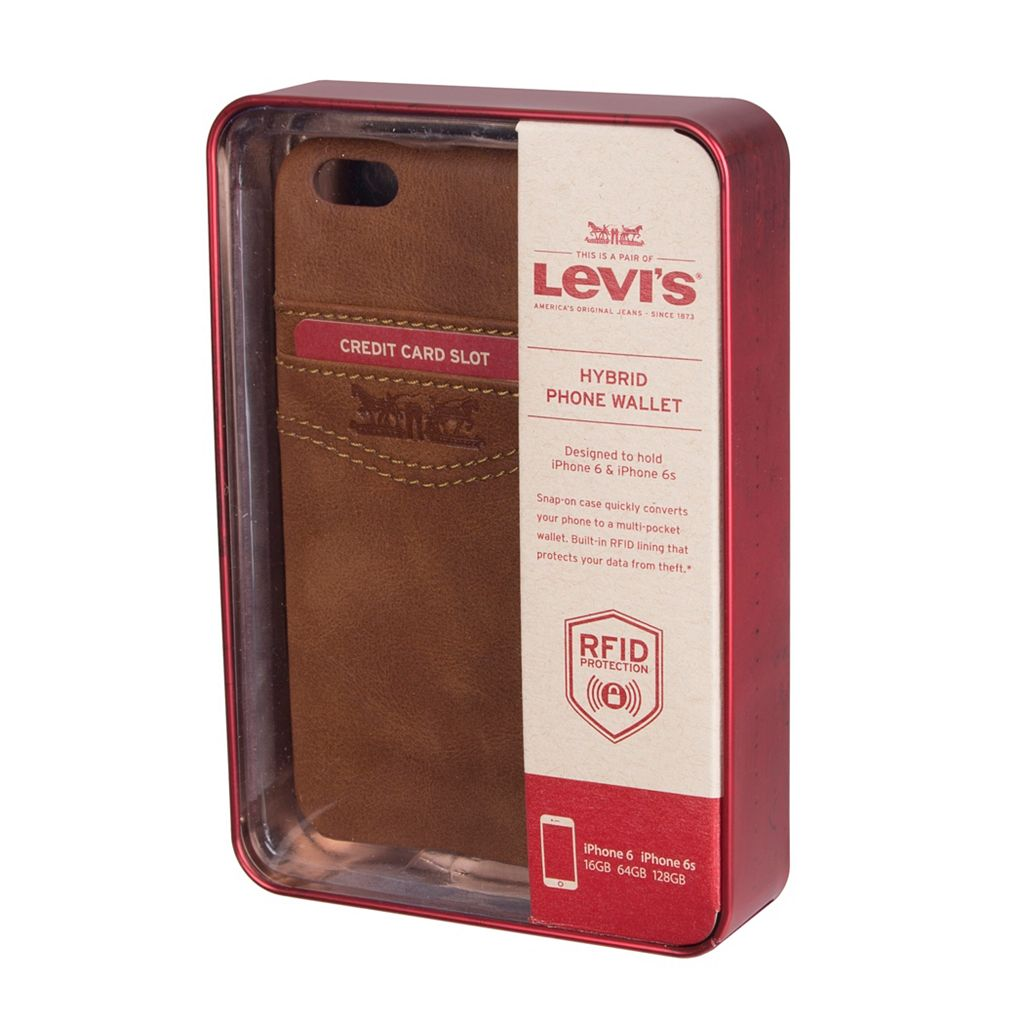 Men's Levi's® Hybrid RFID-Blocking Cell Phone Wallet