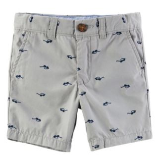 Baby Boy Carter's Canvas Print Shorts