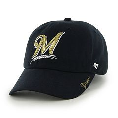 Women's '47 Brand Milwaukee Brewers Sparkle Adjustable Cap