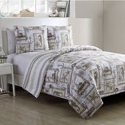 VCNY 3 pc Nautical Cabana Quilt Set