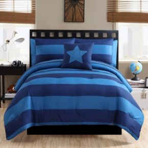 VCNY Rugby Bedding Set