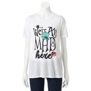 "Disney's Alice in Wonderland Juniors' ""We're All Mad Here"" Graphic Tee"
