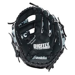 Youth Franklin Sports Digitek Digital Camo 10-Inch Black & White Right Hand Teeball Glove