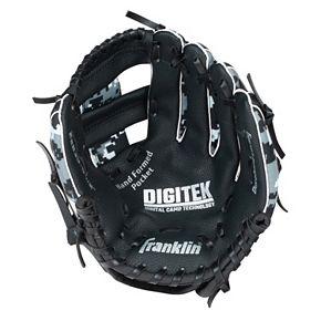 Youth Franklin Sports Digitek Digital Camo 10-Inch Black & White Right Hand Teeball Glove