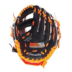 Youth Franklin Sports Digitek Digital Camo 10-Inch Black & Orange Right Hand Teeball Glove