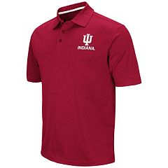 Men's Campus Heritage Indiana Hoosiers Heathered Polo