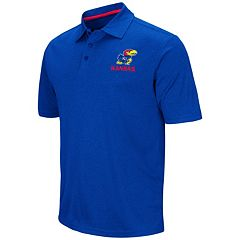 Men's Campus Heritage Kansas Jayhawks Heathered Polo